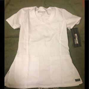 Grey anatomy scrub top Uniform: